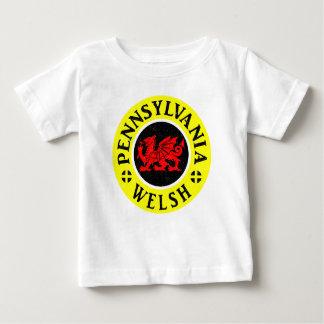 ペンシルバニアウェールズのアメリカ人 ベビーTシャツ