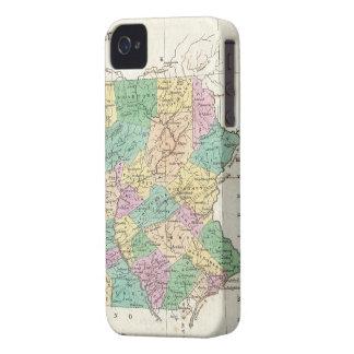 ペンシルバニア(1827年)のヴィンテージの地図 Case-Mate iPhone 4 ケース