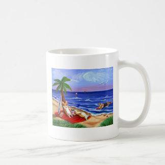 ペンブロークのウェルシュコーギーのマグ コーヒーマグカップ
