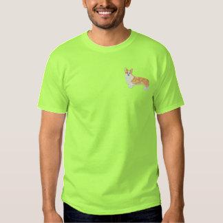 ペンブロークのウェルシュコーギー 刺繍入りTシャツ