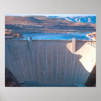 ページのコロラド川の谷間渓谷のダム、 ポスター