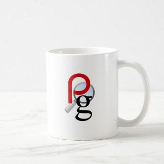 ページの上のギア コーヒーマグカップ
