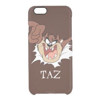 ページを通って破烈するTAZ™ クリアiPhone 6/6Sケース