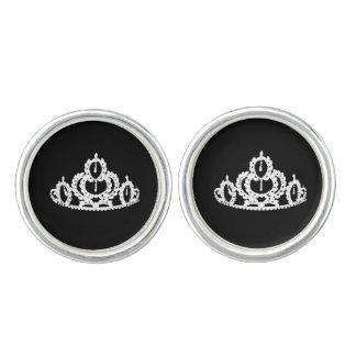 ページェントの王冠のカフスボタン カフスボタン
