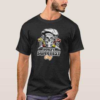 ペーストリー作りの職人のスカル: 世界で最も甘いシェフv6 tシャツ