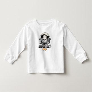 ペーストリー作りの職人: 世界で最も甘いシェフv4 (B&W) トドラーTシャツ