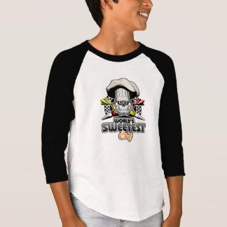 ペーストリー作りの職人: 世界で最も甘いシェフv4 tシャツ