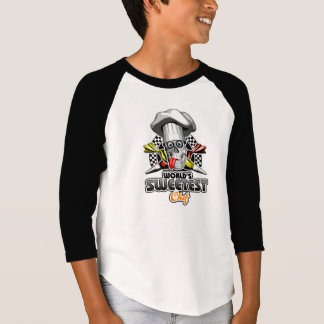 ペーストリー作りの職人: 世界で最も甘いシェフv5 tシャツ