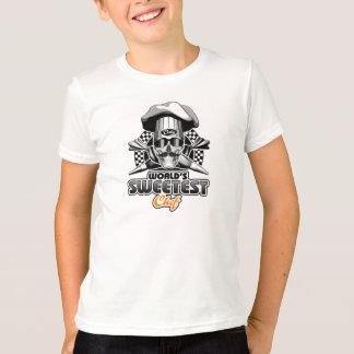 ペーストリー作りの職人: 最も甘いシェフ(B&W) Tシャツ