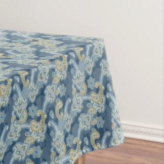 ペーズリーの伝統的な装飾用の背景 テーブルクロス