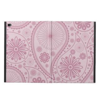 ペーズリーピンクのパターン POWIS iPad AIR 2 ケース