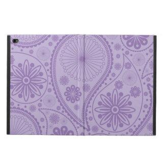 ペーズリー紫色のパターン POWIS iPad AIR 2 ケース