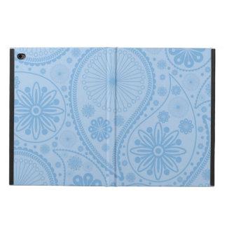 ペーズリー青いパターン POWIS iPad AIR 2 ケース