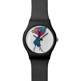 ペーパーコラージュ4 腕時計