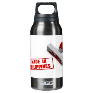 ペーパー概念でフィリピンのスタンプかチョップで作られる 断熱ウォーターボトル