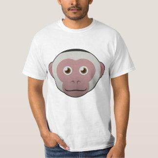 ペーパー白顔のCapuchin Tシャツ