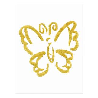 ペーパー蝶3 ポストカード