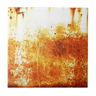 ペーパー錆ついた茶色の芸術の焼跡の煙の抽象芸術のアンティーク タイル