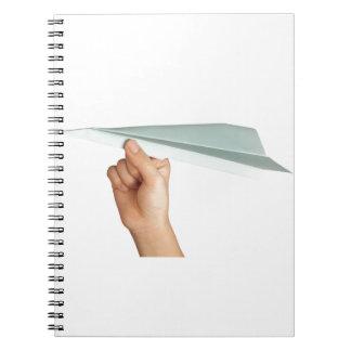 ペーパー飛行機 ノートブック