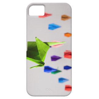 ペーパー鳥のiPhoneの場合 iPhone SE/5/5s ケース