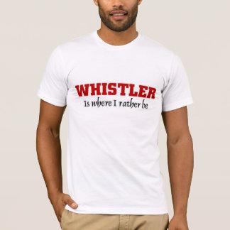 ホイスラーにむしろあって下さい Tシャツ