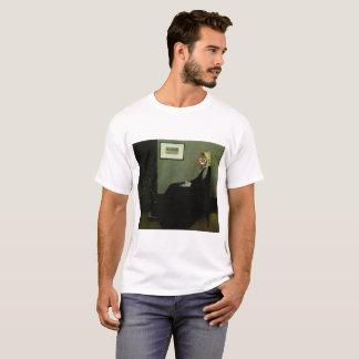 ホイスラーの母幸せなウンチ Tシャツ