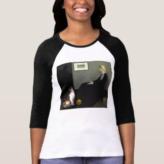 ホイスラーの母猫 Tシャツ