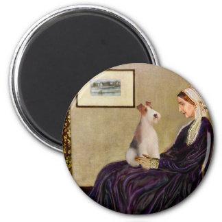 ホイスラーの母-ワイヤーフォックステリア犬#4 マグネット