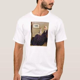 ホイスラーの母-ワイヤーフォックステリア犬#4 Tシャツ