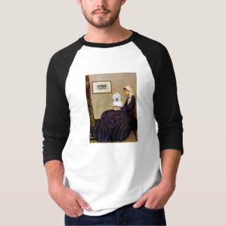 ホイスラーの母- Coton de Tulear 2 Tシャツ