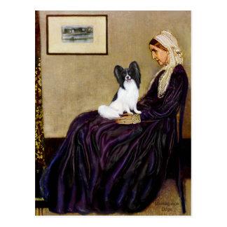 ホイスラーの母- Papillon 1 ポストカード