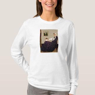 ホイスラーの母- TwoPekingese Tシャツ