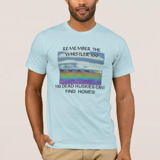 ホイスラー100を覚えて下さい Tシャツ