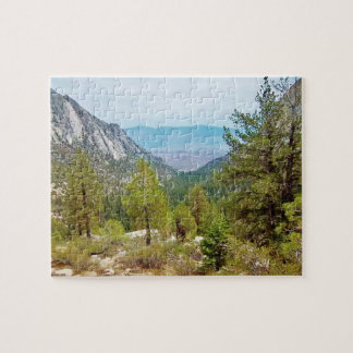 ホイットニー山の道の眺め#1: 眺めのパズル ジグソーパズル