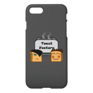 ホストのToastieの灰色のiPhoneカバー iPhone 8/7 ケース
