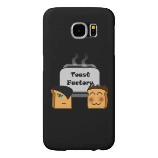 ホストのToastie黒いSamsungのカバー(やっとそこに) Samsung Galaxy S6 ケース