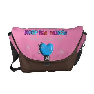 ホスピスのナースのバッグのピンク メッセンジャーバッグ