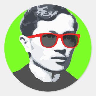"""ホセ""""Pepe"""" Rizal SunniesのTシャツ ラウンドシール"""