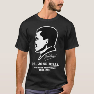 ホセRizalの@ 150th誕生記念日の記念品 Tシャツ