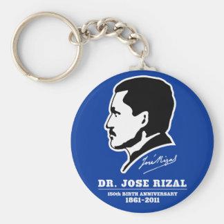 ホセRizal先生の@ 150th誕生記念日の記念品 キーホルダー
