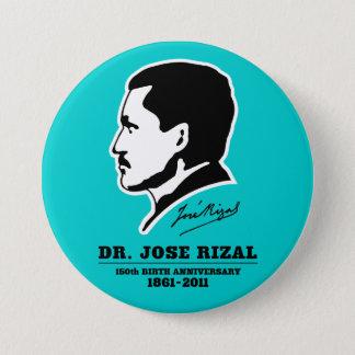 ホセRizal先生の@ 150th誕生記念日の記念品 7.6cm 丸型バッジ