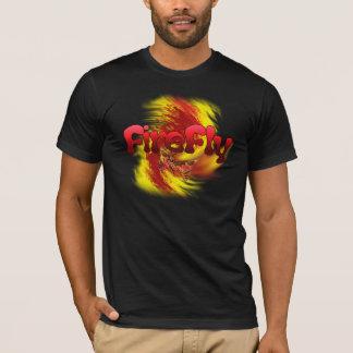 ホタルのロゴの暗闇のTシャツ Tシャツ