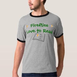 ホタルの信号器のTシャツ(人) Tシャツ