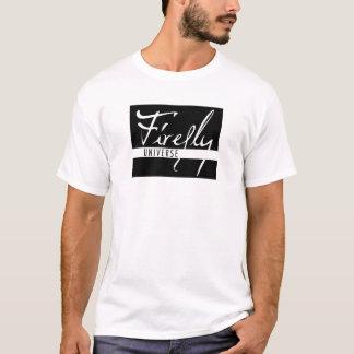 ホタルの宇宙ロゴ Tシャツ