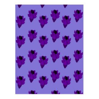 ホタルブクロの紫色 ポストカード