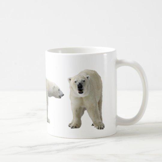 ホッキョクグマのマグカップ コーヒーマグカップ