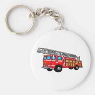ホックおよび梯子の消防車 キーホルダー