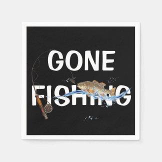 ホックの魚との行った採取 スタンダードカクテルナプキン