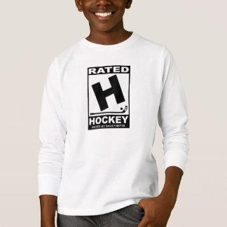 ホッケーのためのホッケー選手評価されるH Tシャツ