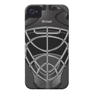 ホッケーのゴールキーパーのヘルメット Case-Mate iPhone 4 ケース